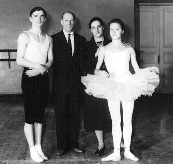 Рудольф Нуреев в хореографическом училище