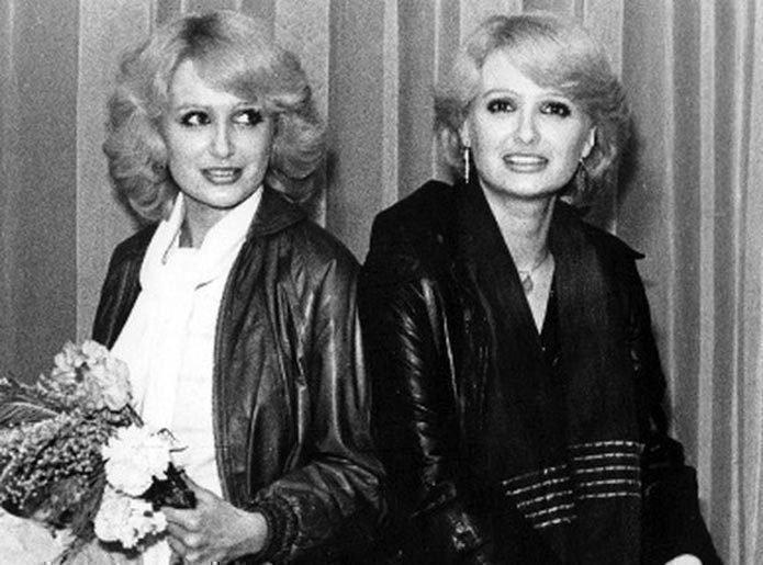 Сестры Зайцевы в начале карьеры