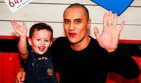 Тимур Гапиятуллин с сыном
