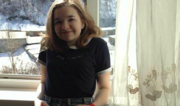 Алена Швец в школьные годы
