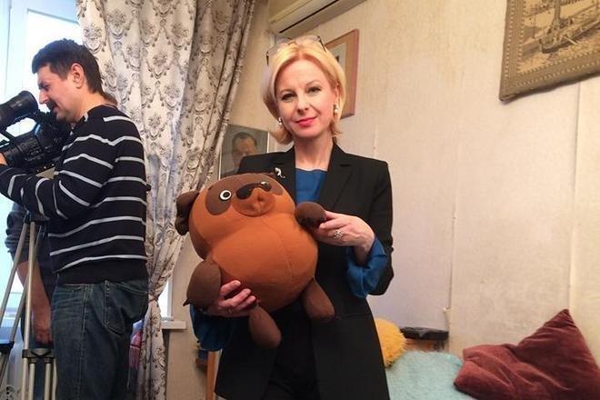 Валентина Пиманова на съемочной площадке
