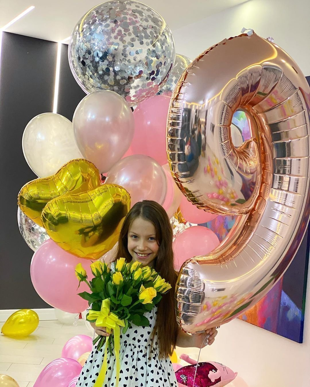 9 лет Вики Соловьевой