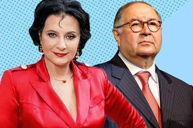 Ирина Винер и Алишер Усманов сегодня