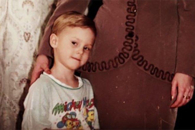 Владимир Морозов в детстве