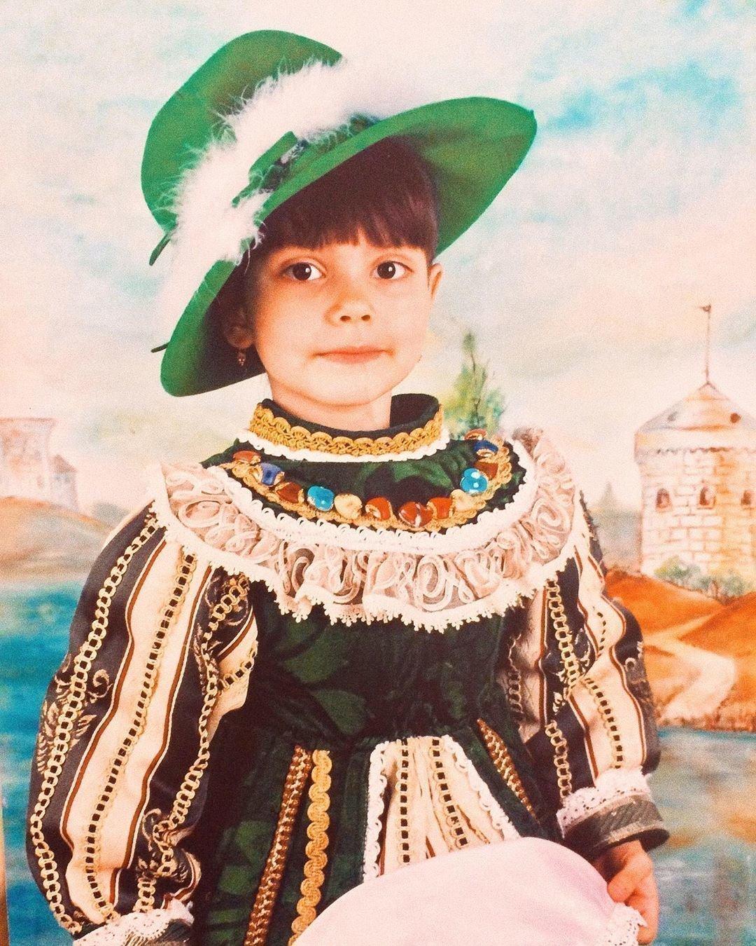 Язиля Набиуллина в детстве