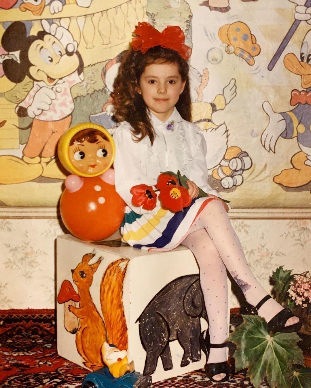 Елизавета Шатилова в детстве