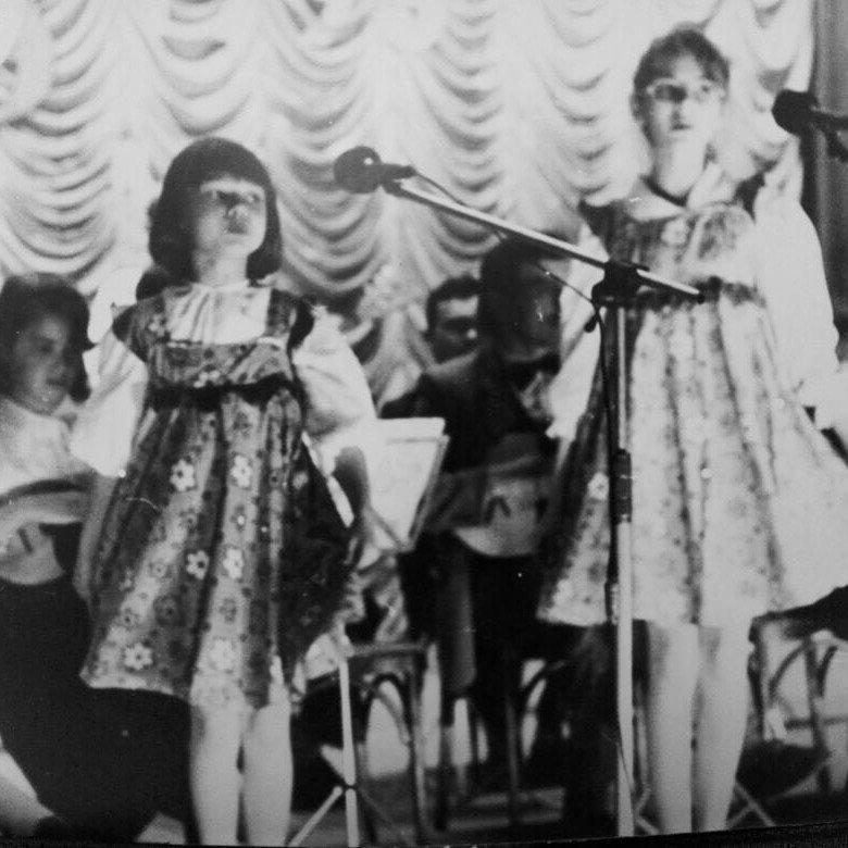 Юлия Доренко в детстве