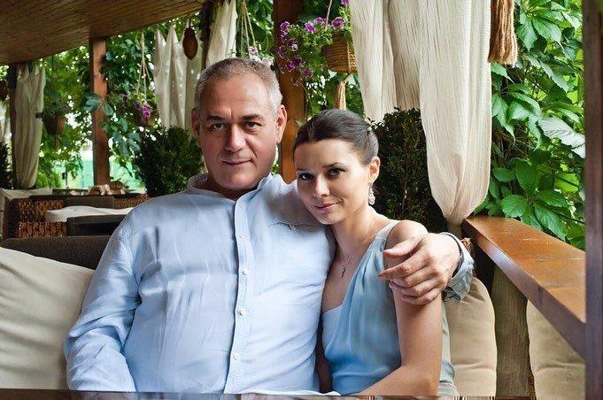 Юлия Доренко с мужем
