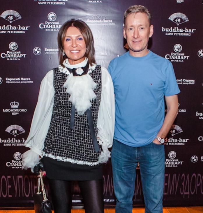 Ирина Оганова с мужем