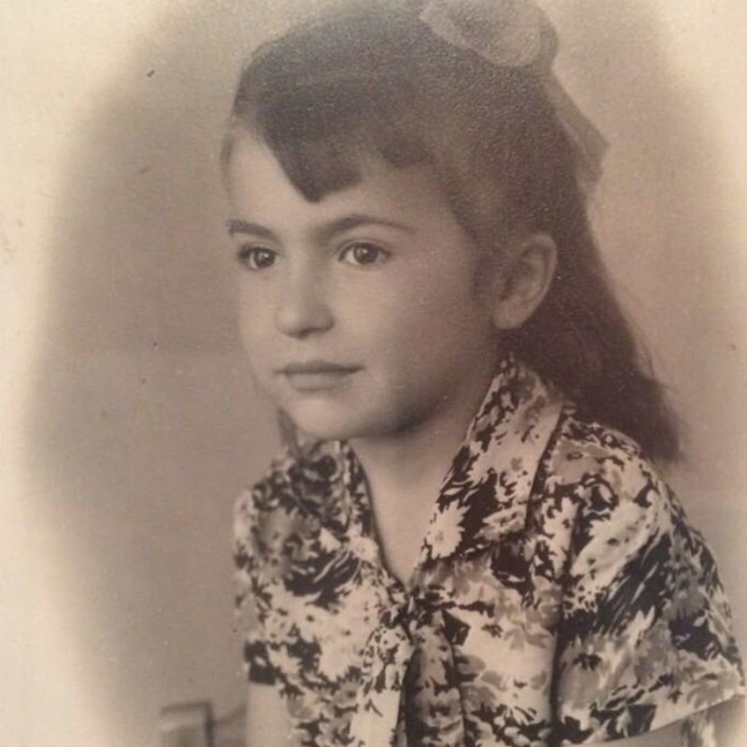 Ирина Оганова в детстве
