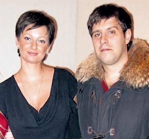 Виктория Талышевская с мужем со вторым мужем