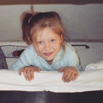 Мила Сайфутдинова в детстве