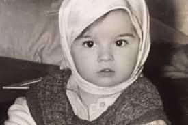 Оксана Ковалевская в детстве