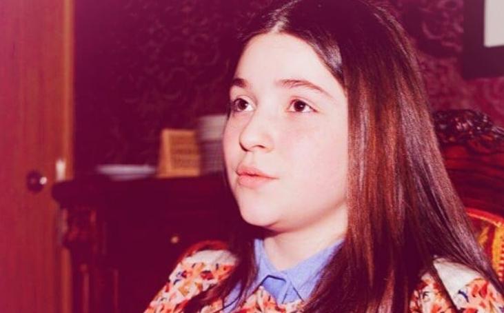 Рагда Ханеева в детстве