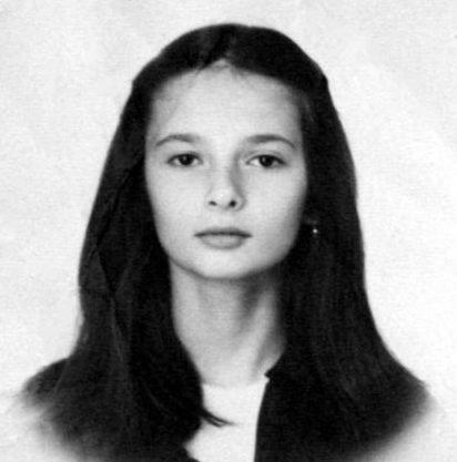 Виктория Талышевская в 15 лет