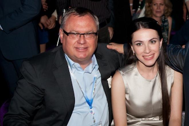 Наиля Аскер-заде с Андреем Костиным