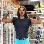 Биография и личная жизнь культуристки Бахар Набиевой: рост и вес, фото до тренировок и сейчас, татуировки