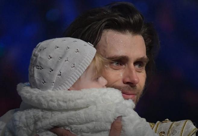 Петр Чернышев с дочкой