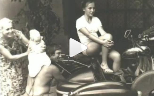 Валентина Легкоступова с родителями