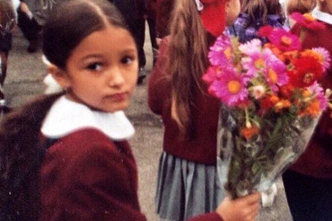 Мария Мельникова в детстве