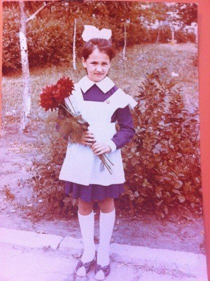 Лена Миро в школе