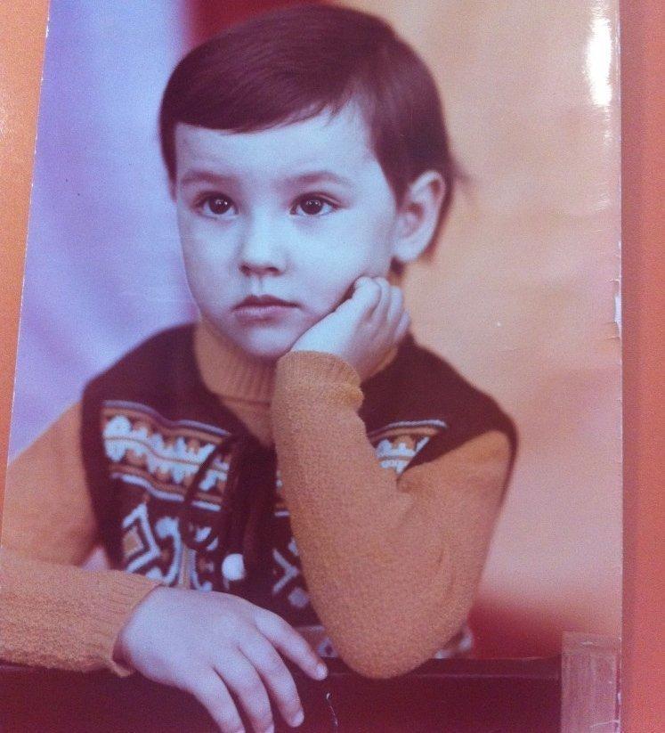 Лена Миро в детстве