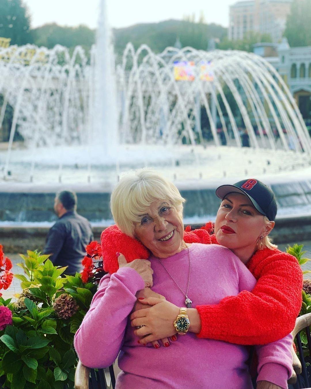 Наталья Рагозина с мамой