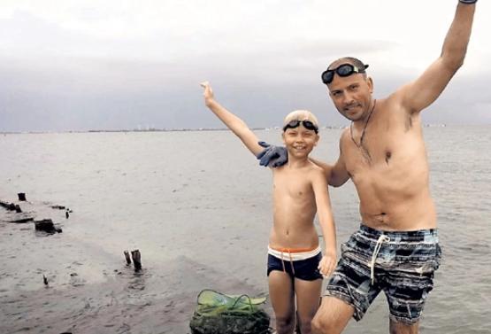 Константин Семин с сыном
