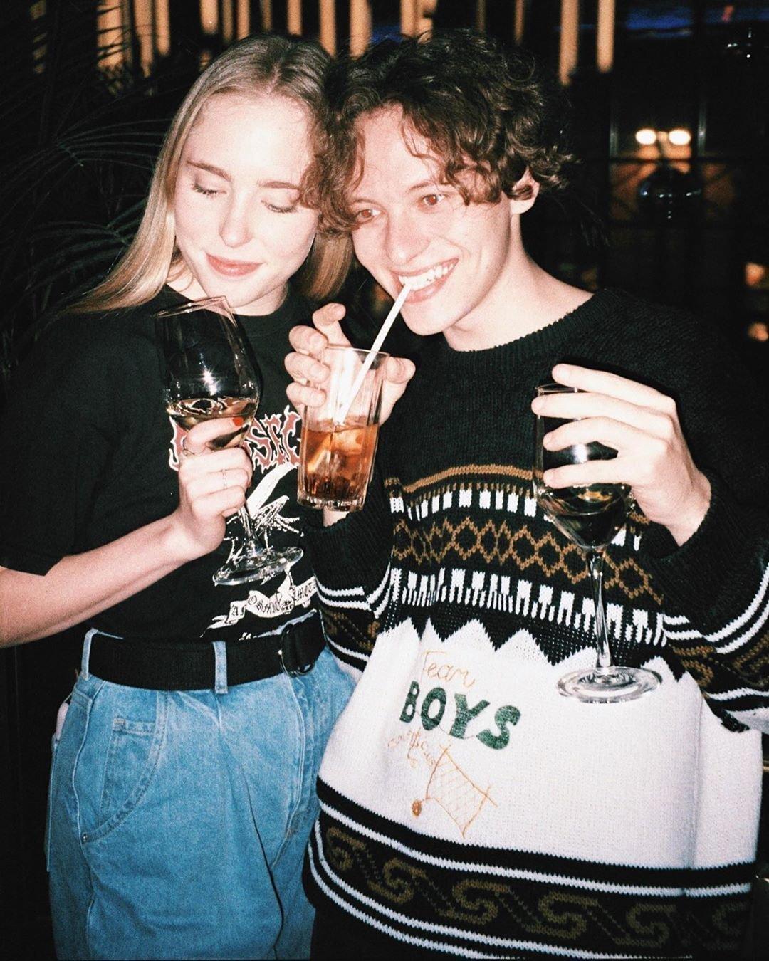 Шарлот с блогером Дарьей Искренко