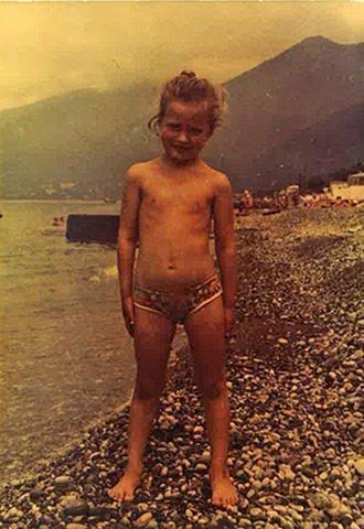 Виктория Шелягова в 6 лет