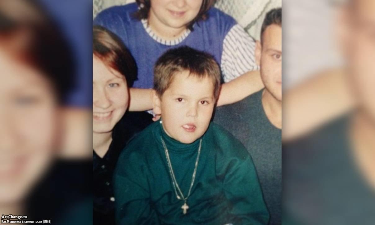 Игорь Синяк в детстве