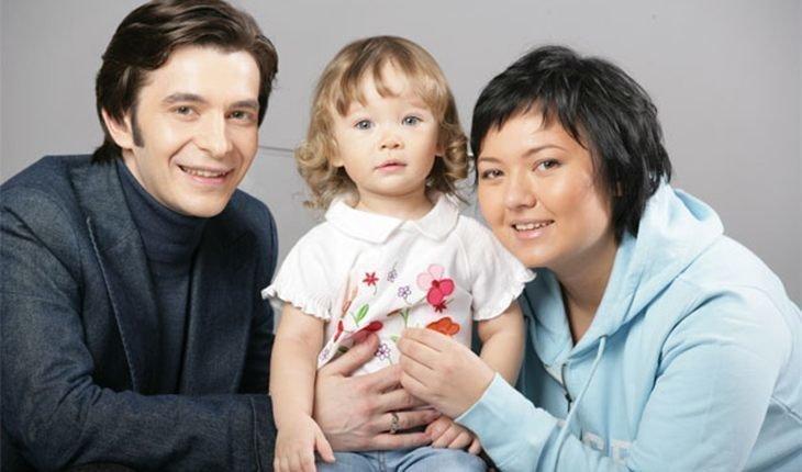 Курпатов с женой и дочкой