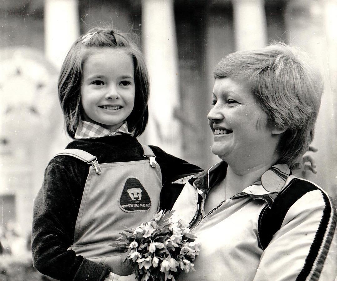 Виктория Талышевская в детстве
