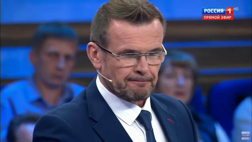 Василь Вакаров на ток-шоу