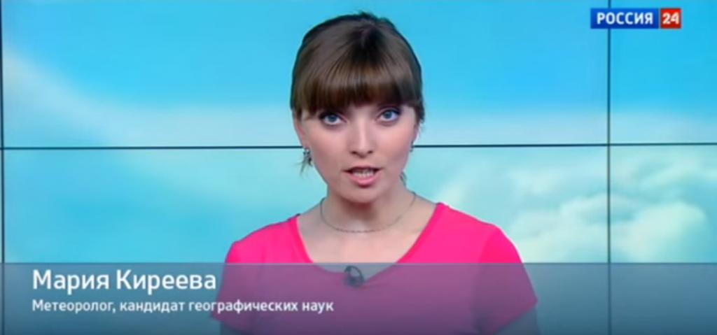 Мария Киреева ведущая