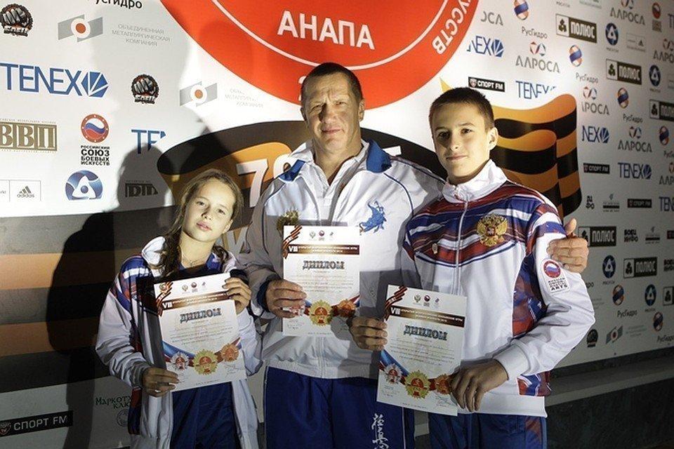 Юрий Трутнев с детьми