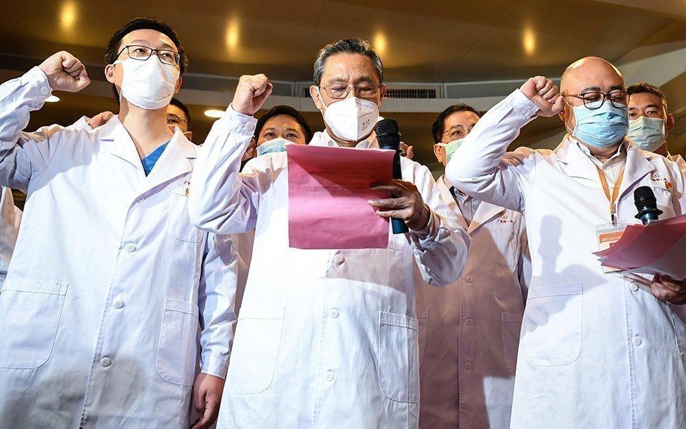 Чжун Няньшань дает клятву