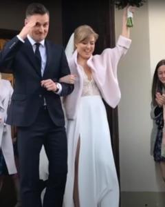 Якуб Корейба женился. Фото со свадьбы