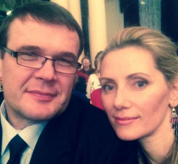 Василь Вакаров с женой