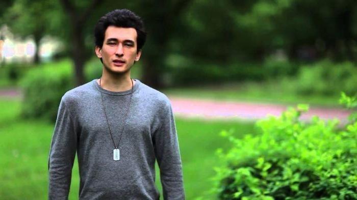 Алан Енилеев в юности