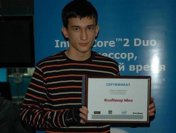Первая победа Алана Енилеева