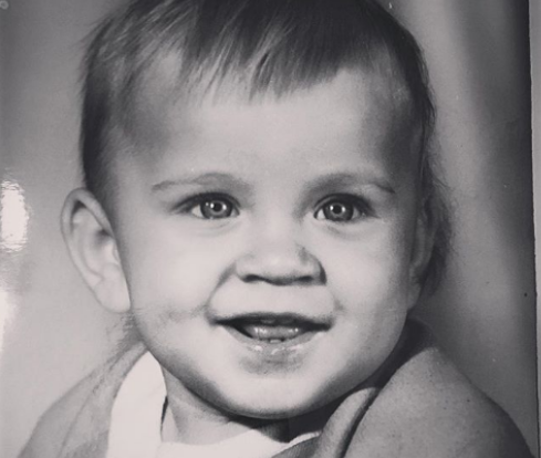Михаил Игонин в детстве