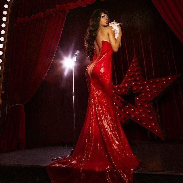 Мария Лиман на конкурсе красоты