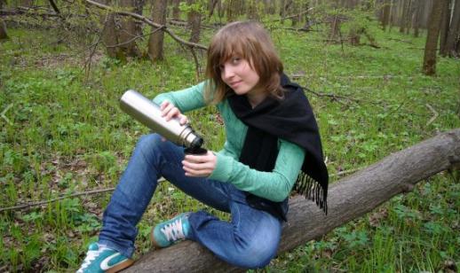 Мария Киреева в юности