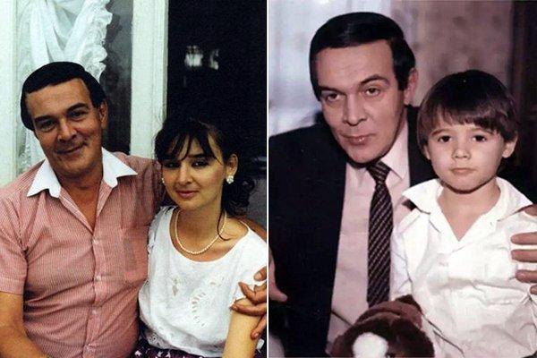 Муслим Магомаев с дочерью