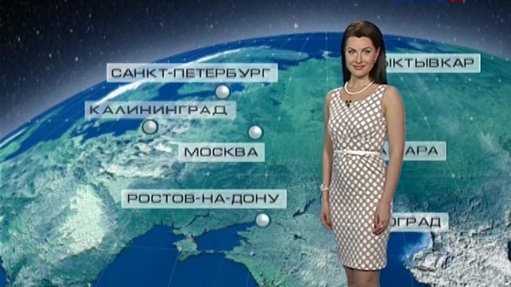 Наталья Зотова, ведущая погоды