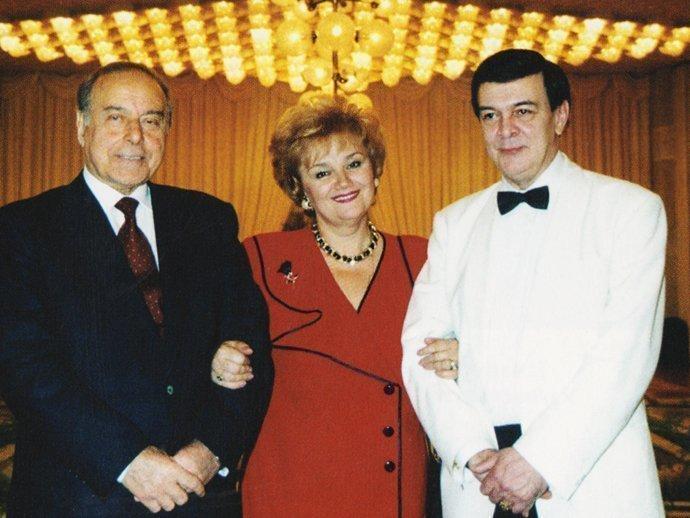 Муслим Магомаев и Гейдар Алиев