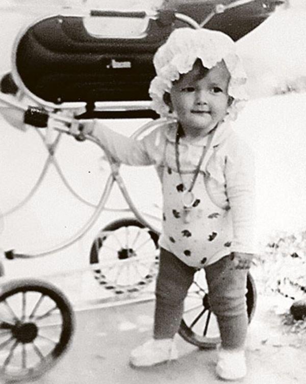 Эрика Герцег в детстве