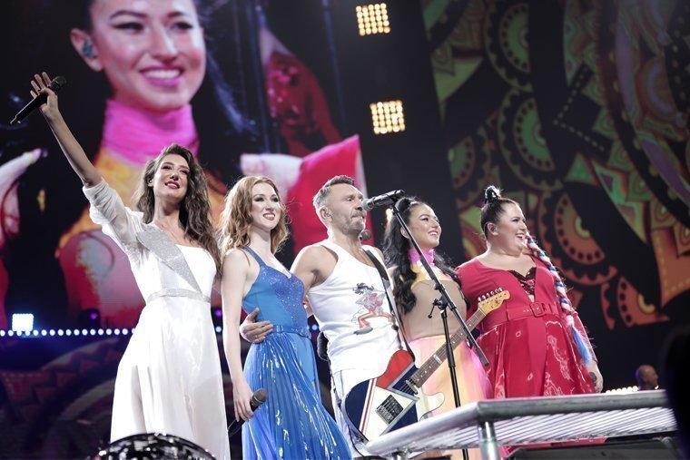 Зотова в группе Ленинград