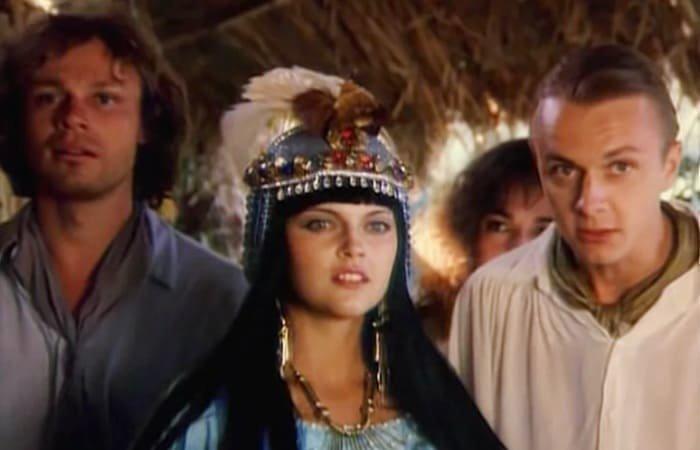 Актриса Пирет Мянгел в Сердца трех 2